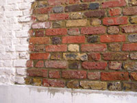paint removal from brickwork