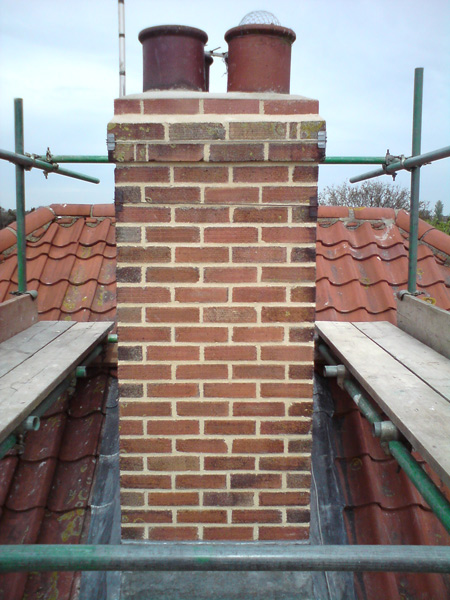 Repointing A Chimney : Colchester